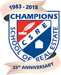 Champions School of Real Estate 35 Year Anniversary Logo