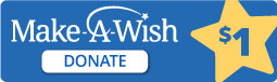 Make a Wish - $1 Donation Button