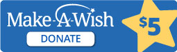 Make a Wish - $5 Donation Button