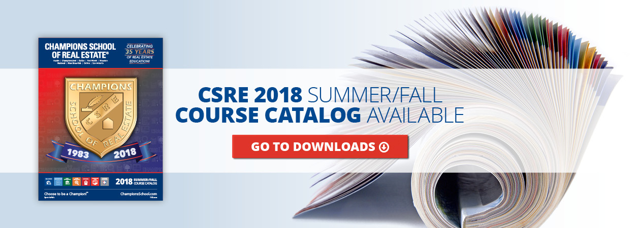 2018 Summer/Fall Catalog Banner