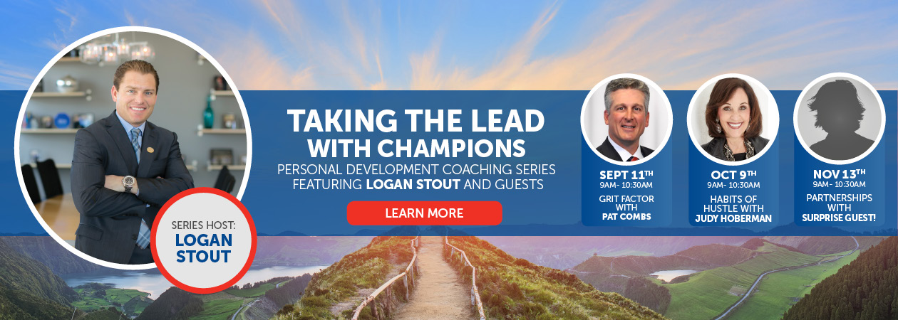 Taking the Lead Coaching Series Banner