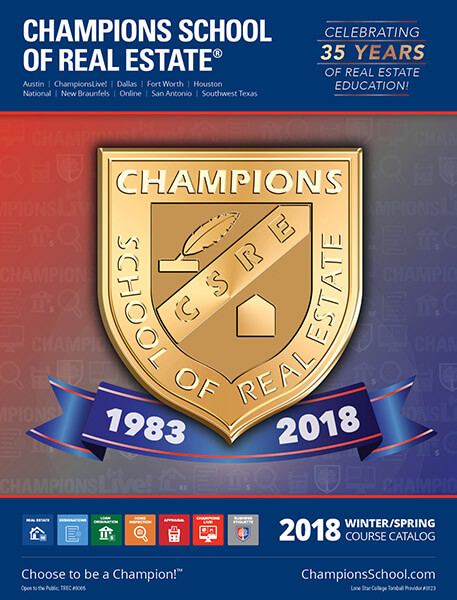 Champions School of Real Estate Shield Icon
